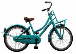 Bike Fun Cargo Load 20 Inch 33 cm Meisjes Terugtraprem Groen