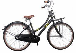 Bike Fun Cargo Load 26 Inch 43 cm Meisjes 3V Terugtraprem Zwart