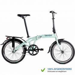 TAKASHi Vouwfiets Single Groen