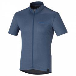 Shimano fietsshirt Transit Pavement heren donkerblauw maat XXL